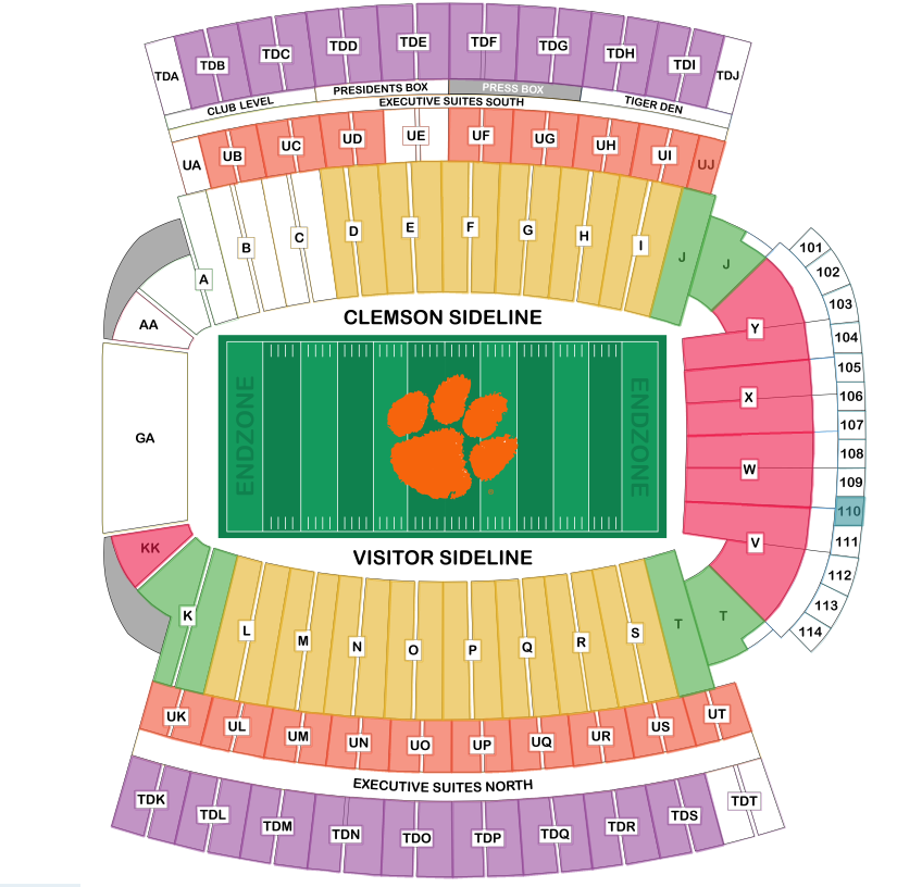 clemson tigers vs boston college eagles tickets september 23